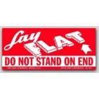 "2x4-1/2"" Lay Flat Labels 500/rl"