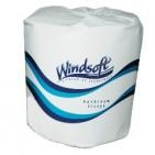 """2ply Windsoft Toilet Paper 4.5"""" White 500sht/rl - 96rl/cs"""