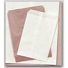 8-1/2x11 White Paper Merchandise Bags - 2000/cs
